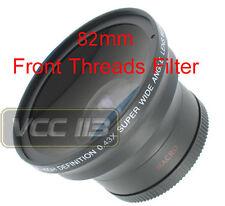58mm Wide Angle Lens .43x for Canon Rebel T3i T3 60Da SL1 60D XT XTi XS XSi T4i