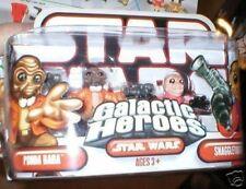 STAR WARS GALACTIC HEROES SNAGGLETOOTH & PONDA BABA MOC