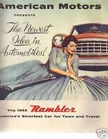 1955 Rambler Sales Folder American Motors