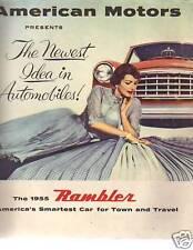 1955 Rambler Sales Folder American Motors