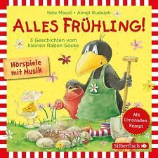 CD * DER KLEINE RABE SOCKE HSP - ALLES FRÜHLING ! 3 GESCHICHTEN # NEU OVP !