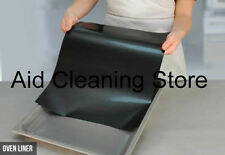 2 Universal Oven Cooker Replacement Teflon Non Stick Oven Liner Cooking Mat