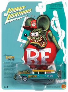 Johnny Lightning Cadillac Hearse Rat Fink Special 1959 JLSP143 1/64
