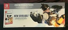 "Overwatch Poster Gamestop 53"" x 21"" Nintendo Switch Promotional Advertisement"