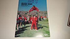 1978 Senior Bowl (Alabama) North vs South Game Program EARL CAMPBELL NEWSOME