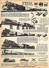 1969 ADVERTISEMENT 2 Pg Train Tyco HO Gauge Marx Long Hauler Alco Action Shifter