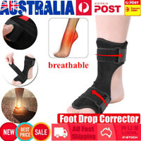Foot Drop Orthosis Brace Corrector Splint Plantar Fasciitis Ankle Achilles Night