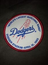"""""""Worlds Largest Marching Band"""" Patch Dodger Stadium-April 15, 1985."""