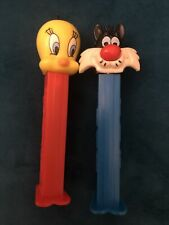 More details for vintage rare tweety pie and sylvester pez 1998