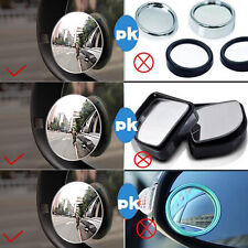 Adjustable Glass Convex Motorcycle Blind Spot Mirror Car Shade Rearview Mirrors