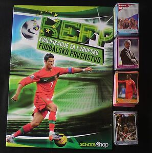 Qualification for EURO 2016 Road to EURO 2016-Empty album +complete set  648/648
