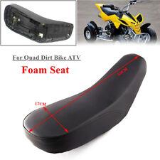 Black Foam Seat Fit for Mini Bike 50cc 70cc 90cc 110cc 125cc Kid QUAD BIKE ATV