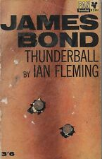 *JAMES BOND in THUNDERBALL by IAN FLEMING - RARE! 1964 PAPERBACK EDITION [2]