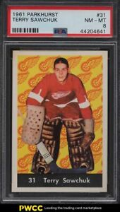 1961 Parkhurst Terry Sawchuk #31 PSA 8 NM-MT