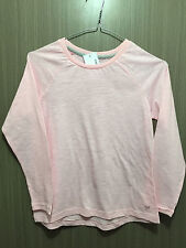 c9b93ef35e BNWT Girls Size 8 Target Brand Pretty Pink Long Sleeve Cotton Blend Sleep  Top