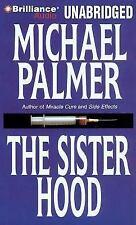 THE SISTERHOOD unabridged audio book on CD by MICHAEL PALMER  Brand New 11 Hours