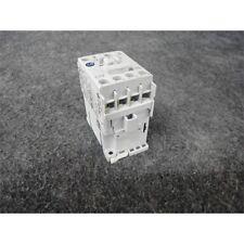 Allen Bradley 100-C12EJ10 Contactor, IEC, 12A, 3P, 24VDC Electronic Coil