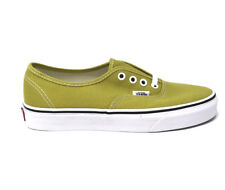 Vans Authentic Cress Green White Men's 10.5 Skate Shoes New Lime