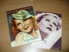 CINEMA ILLUSTRAZIONE LILIAN HARVEY VITA FILMS FOTO NUMERO MONOGRAFICO N.4 1934