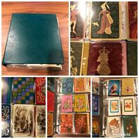720 vintage Single Swap Playing Card Collection in binder - most / all blanks