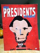 NEW What Presidents Are Made of by Hanoch Piven Hardcover Book (English) Free Sh