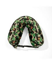 More details for bape baby milo camo hooded travel pillow (new)