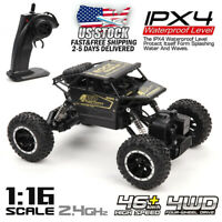 1:16 2.4GHz RC Monster Remote Control Truck Off-Road Vehicle Racing Crawler Car
