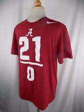 Nike Alabama Crimson Tide 21-0 Champions pullover s/s Shirt sz L Large