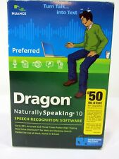 Nuance Dragon Naturally Speaking 10 Preferred Speech Recognition Software