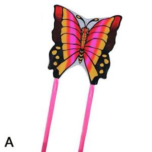 90*50cm Kids Butterfly Kite Children Toy Outdoor Flying Game Activity With Tail/