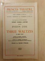 THREE WALTZES - EVELYN LAYE JOHN MARQUAND BERYL McLEAN MAUREEN LESLIE JOAN NORTH