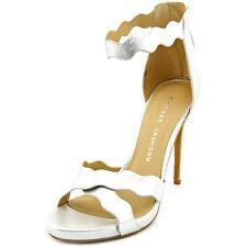 T-Strap Stiletto Solid Sandals for Women