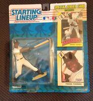 1993 Frank Thomas Starting Lineup Card/Figure mint  Display Box Good