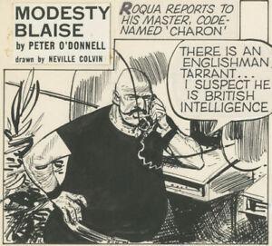 Neville Colvin, Modesty Blaise #5748, Alternative Man, NO RESERVE!