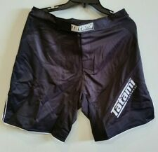 Tatami Black Dynamic Fit  Fight Shorts MEDIUM