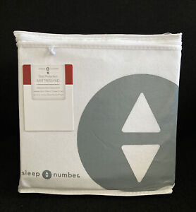 SLEEP NUMBER Total Protection Mattress Pad Full #423811 NWT Waterproof Stain Res