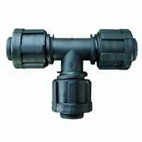 pz 50 raccordo a t per irrigazione da diametro mm 16x16x16 raccordi