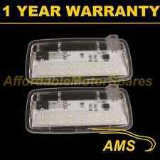 2x per BMW 1 Series E88 2004 in data 18 LED BIANCHI penetrazione del pavimento Boot PORTA LUCI CORTESIA