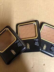 Lot Of 3 Black Radiance Pressed Powder - Café 8614 Brand New
