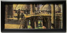 Star Wars Return Jedi LEIA WICKET EWOK VILLAGE FRAMED CONCEPT PRINT Chiang 1983
