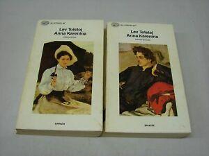 (Lev Tolstoj) Anna Karenina 1992 Einaudi 2 vol.