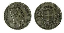 pcc1840_4) Vittorio Emanuele II  (1861-1878) 1 Lira Stemma 1863 Mi