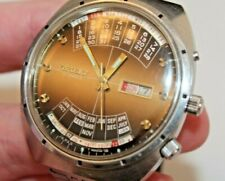 Vintage 1970's Orient Perpetual Calendar Automatic 21J Day/Date Gents Watch