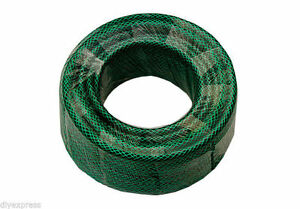 NEW FLEXIBLE GARDEN HOSE PIPE GREEN UK MADE TOOL FROM 15 METRE UP TO 100 METRE
