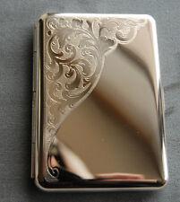 Venice Metal Pocket Cigarette Case Made in Germany