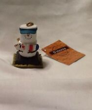 Adorable Midwest Original S'mores Christmas Ornament Card Player/gambler