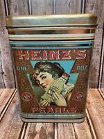 Vintage Heinz Pearls Tin Container Cheinco Housewares