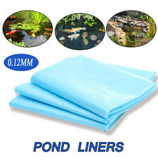 13-33Ft Fish Pond Membrane Outdoor Garden Landscaping Supplies Equipment Blue