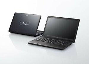 """SONY VAIO VPCEJ 17.3"""" i5 2.41 GHz 8GB HD SSD 512  Win10 64bit - GARANZIA 12MESI"""
