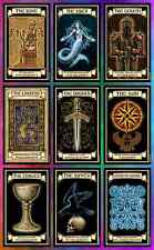 Fortune-telling cards goth gothic wicca pagan witch magic dark fantasy art gift